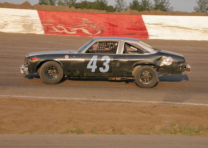 Race car #43