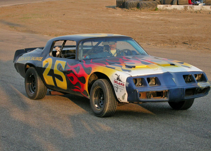 Race car #25